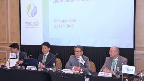 IGU Coordination Committee Meeting, Santiago