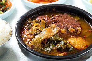 Yukgaejang (Daegu hot spicy meat stew)