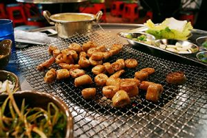 Makchang (Grilled Beef Entrails)