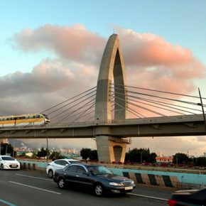 Korea's only monorail provides comfortable transportation around the city center
